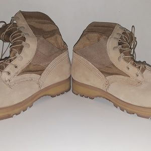 Vibram Shoes - Vibram Tan Military Boots